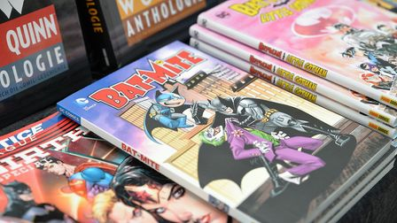 A selection of comics are now avaiala le from North Somerset's elibrary. Picture: Pixabay