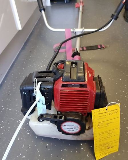 Police are keen to find the owners of these stolen power tools.