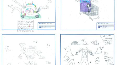 2019 entries for the Healthy Young Minds contest.
