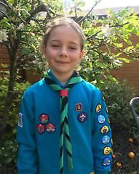 Eva of St Georges Primary School. Picture: St Georges Primary School