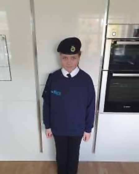 Paige of St Georges Primary School. Picture: St Georges Primary School