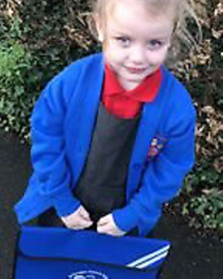 Amelia of St Georges Primary School. Picture: St Georges Primary School