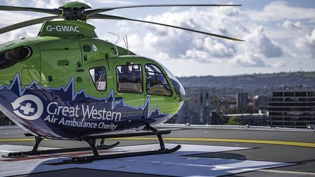 Great Western Air Ambulance. Picture: GWAAC