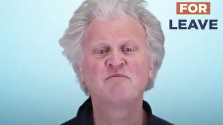 Tim Martin fronts the Future For Leave pro-Brexit campaign. Photograph: Leave Means Leave/Twitter.