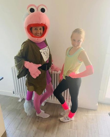 Members of Trail running Weston Athletic Club are raising cash for the NHS by taking part in solo fa