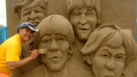 The Beatles were celebrated as Great Britons in 2010. Picture: DAVID KENNEFORD