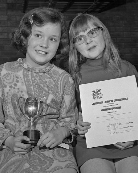 Winners in the music classes at the Weston Junior Arts Festival at the Playhouse. Picture: WESTO