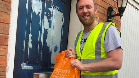 James Willis-Bowden has set up the group to help vulnerable people in Weston.
