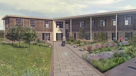 An update artist's impression of the surgery. Picture: Mendip Vale Medical Practice