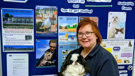 Nikki Tutton has raised more than £3,600 for RSPCA Brent Knoll Animal Centre Picture: RSPCA Nor