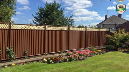 A metal fence can help protect your home and increase the security of your garden. Picture: ColourFe