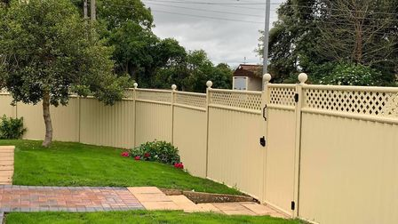 Make sure your fence can offer you privacy, is long-lasting and easy to care for. Picture: ColourFen