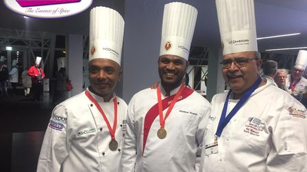 Moslek competed in the Culinary World Cup 2018 in Luxembourg and returned with 7 medals, including g