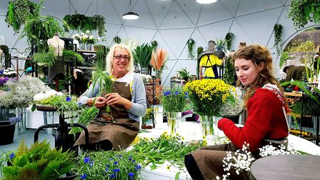Best friends Andi Strachan and Helen Lockwood feature in new Netflix series The Big Flower Fight.