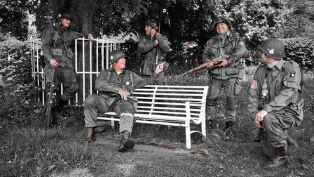 VE Day in Wrington. Picture: Jeremy Long