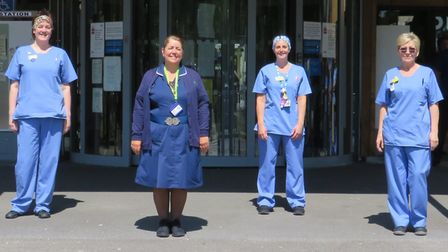 Outpatients at Weston General Hospital. Picture: Weston General Hospital