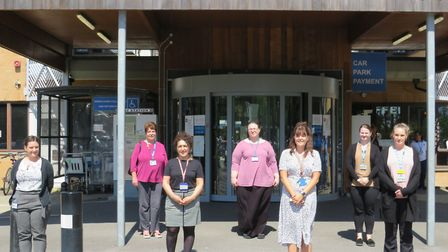 Staff at Weston General Hospital. Picture: Weston General Hospital