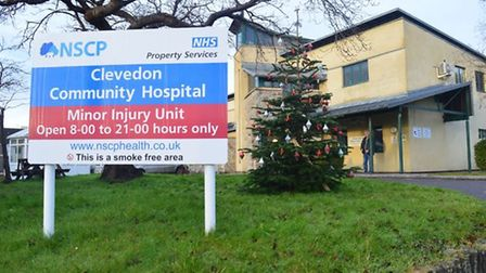 The Minor Injuries Unit in Clevedon will be open during the bank holiday.