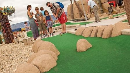Congo Crazy Gof in Brean reopened on Saturday. Picture: Brean Theme Park.