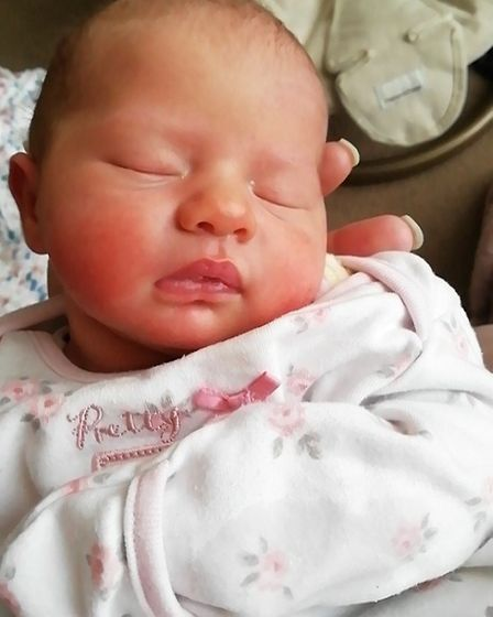 Coras mum has raised £2k for charity after she lost her daughter at 17 days old.Picture: Kay-Marie D