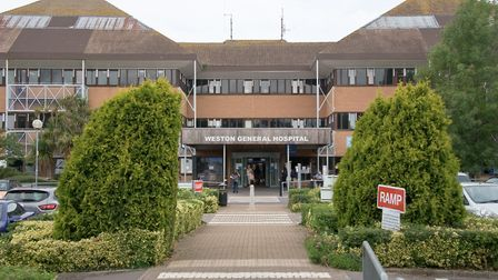 Coronavirus re-testing has found no new cases at Weston General Hospital. Picture: Mark Atherton