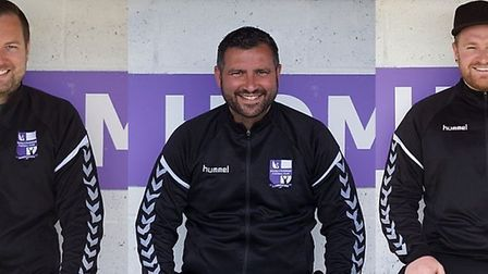 New Nailsea & Tickenham managers Jamie Smith and Nic Steadman will be assisted by Rich Lucas.