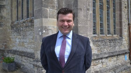 Conservative candidate James Heappey. Picture: Eleanor Young