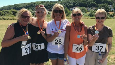 Runners tackled Make The Point 2018 for Tiny Tickers and Chicks.