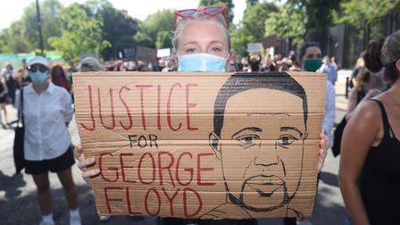 Black Lives Matter protests have taken place across the globe. Picture: Niall Carson/PA Wire