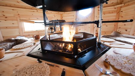 Additional rooms can be added to the Lodges and the central BBQ pit can easily be converted to a tab