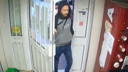 Police want to speak to this man in connection with a burglary. Picture: Avon and Somerset Constabul