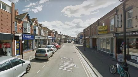 Burnham High Street gears-up to re-open to the public from next week. Picture: Google Street View
