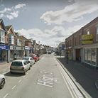 Burnham High Street is temporarily closed to vehicles.Picture: Google Street View