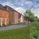 An artist's impression of how the Engine Lane development could look. Picture: Barratt Homes