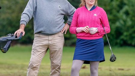 Katie Rule and dad John (pic Adrian Milledge)