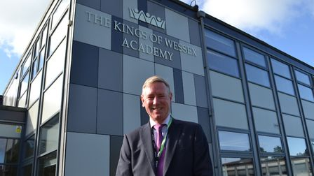 Executive headteacher of the Wessex Learning Trust, Gavin Ball. Picture: Eleanor Young