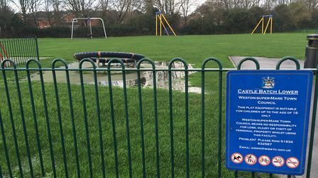 Castle Batch park in North Worle will reopen soon. Picture: Henry Woodsford