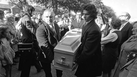The funeral of Fran O'Toole. Picture: Independent News Media/Getty Images