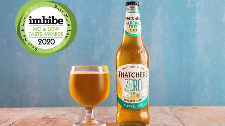Thatchers Zero was crowned the best No and Low Cider in the UK.