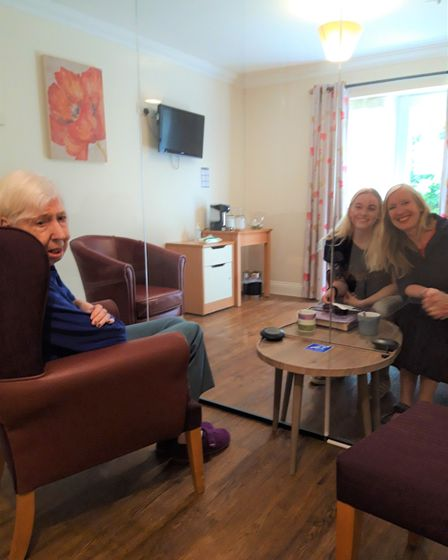 Argentum Lodge Care Home has opened a new virus-proof room to enable loved ones to meet.