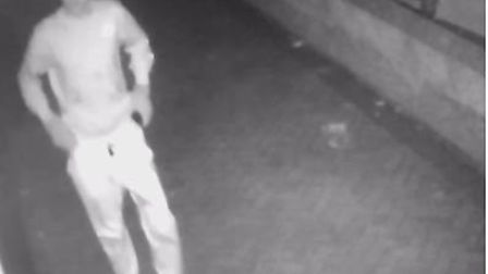 Police would like to speak with this man in connection with the break-ins. Picture: Avon and Someret