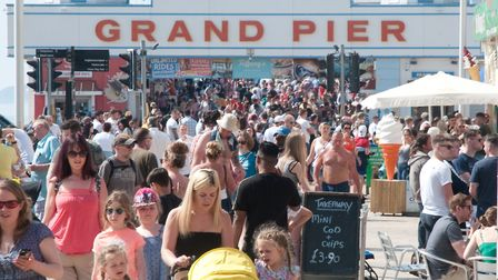 The Grand Pier announced it is currently putting in plans to adhere with social distancing.