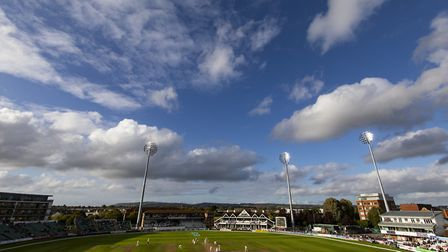 A general view of The Cooper Associates County Ground, Taunton.