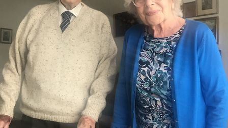 Gordon and Maureen Clarke celebrate their 70th anniversay on July 8.