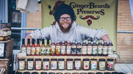 GingerBeards Preserves always go down a storm at the eat Festivals.