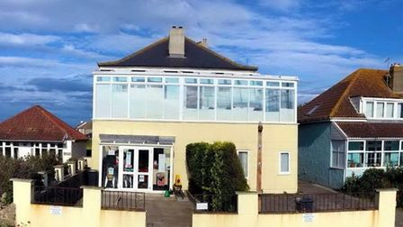 Sand Bay Tea Rooms was broken into at the weekend. Picture: Sand Bay Tea Rooms