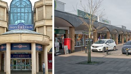 The Sovereign Shopping Centre and North Worle District Centre are 'performing well' in generating in