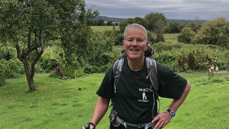 British Army veteran, Peter Garner will walk 500 miles for the Care for Casualties charity.