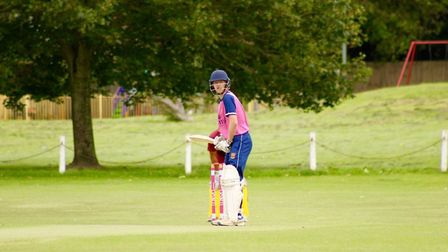 Cameron Harding scored 100 runs from 95 deliveries in their 137 run victory over Weston.