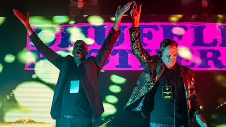 The Shuffle Brothers will be at Weston's Grand Pier this weekend.